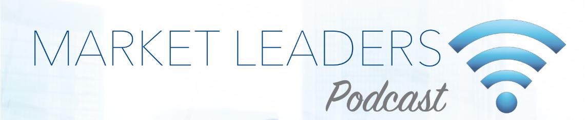 Market Leaders Podcast Banner