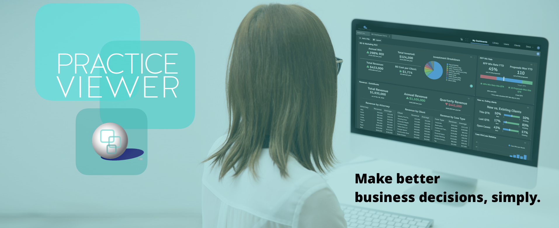 Practice Viewer: Make better business decisions, simply.